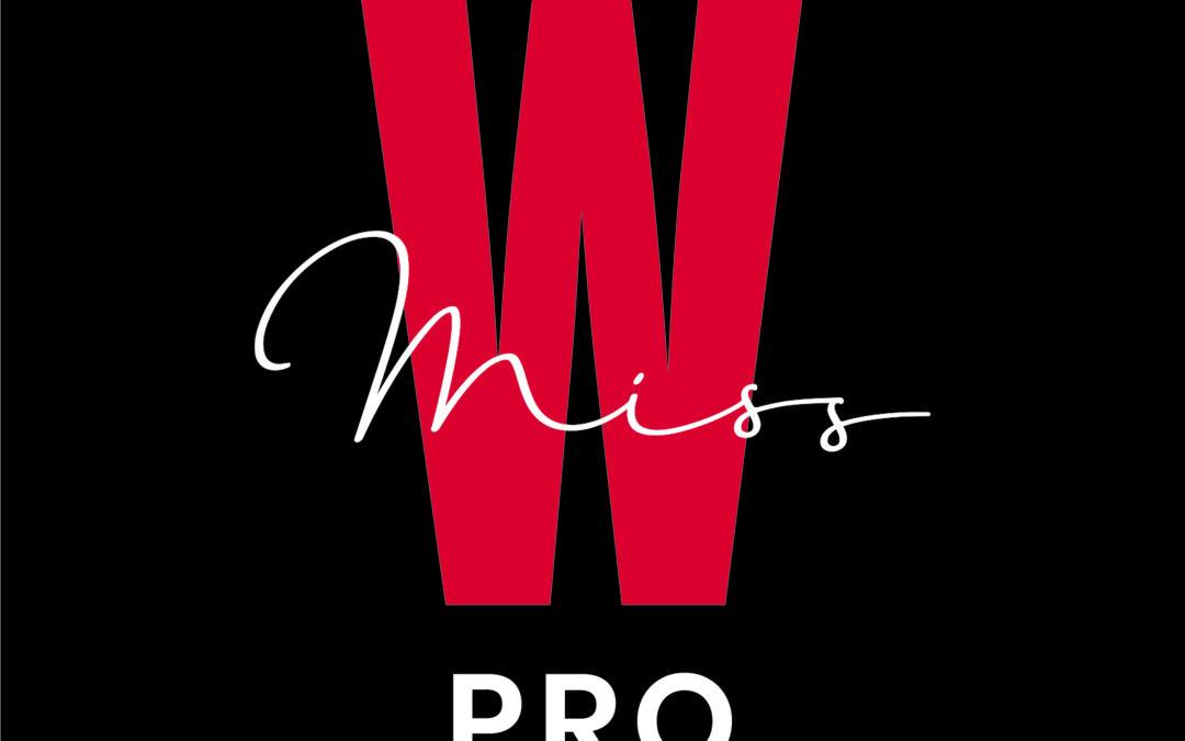 Logo marque de maquillage bio Miss W Pro, Institut de beauté Emeline Esthétique, 85130 La Verrie