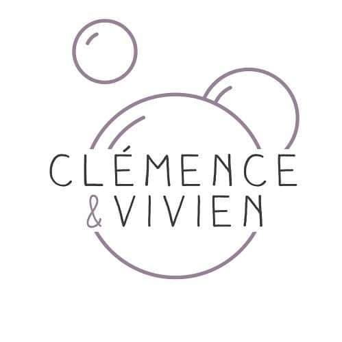 Logo de la nouvelle marque Clémence et Vivien présente à l'institut, institut de beauté Emeline Esthétique 85130 Chanverrie